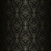 Seamless charcoal wallpaper - style retro. — Stock Vector