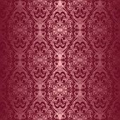 Elegant claret seamless wallpaper. — Stock Vector