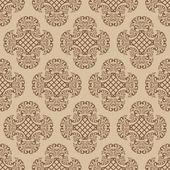 Seamless damask wallpaper. — Vetorial Stock