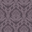 Seamless retro pattern in victorian style. — Stock Vector