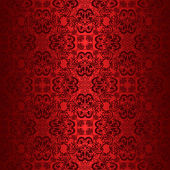 Red seamless wallpaper. — Stock Vector