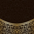 Royalty-Free Stock Vector Image: Luxury Background decorated by gold border.
