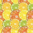 Seamless Citrus background — Stock Vector #25078255