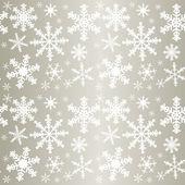 Snowflakes - seamless pattern. — Stock Vector