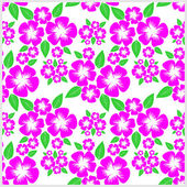 Seamless Pattern with pink Flowers. — Stock Vector