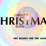 Christ is born — Stock Photo