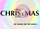 キリストは生まれた — ストック写真