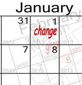 New years resolution — Stock Photo