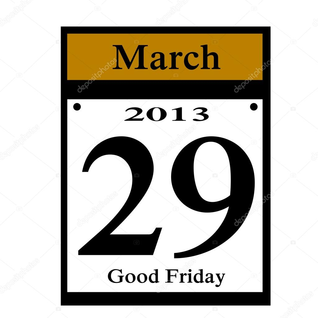 Calendar Good Friday : Medical calendar dates just b use