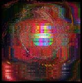 色抽象番号 12 — ストック写真