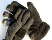 Winter ski gloves — Stock Photo