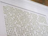 El discurso de gettysburg — Foto de Stock