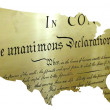 Declaration of independence — Stock Photo #25507129