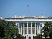 The white house — Stock Photo