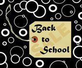 Back to school sale — Stock Photo
