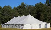 White tent — Stock Photo