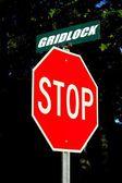 Stop gridlock! — Stock Photo