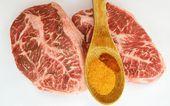 Beef Flat Iron Steak — Stock Photo