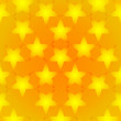 Stock Vector: Gold star background