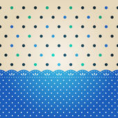 Polka dot background — Stock Vector