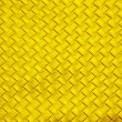 Woven golden leather - Stock Photo