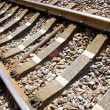 Stock Photo: Train track