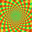 Cyclic optical illusion (Vector) — Imagen vectorial