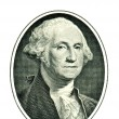 Постер, плакат: George Washington on one dollar