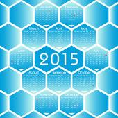 Vector 2015 calendar — Stock Vector
