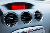 Air conditioner in car — Stock Photo
