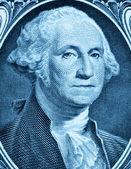 George Washington on one dollar — Stock Photo