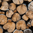 Stock Photo: Stack of wood