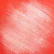 Scratched red metallic background — Stock Photo