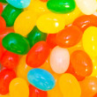 Sweets of different colors closeup - Stock Photo