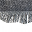 Stockfoto: Denim fabric with fringe