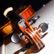 Stock Photo: Fragment of violin