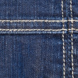 Seam on denim — Stock Photo #36265829