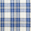Plaid blue fabric — Stock Photo