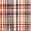Stock Photo: Plaid red fabric