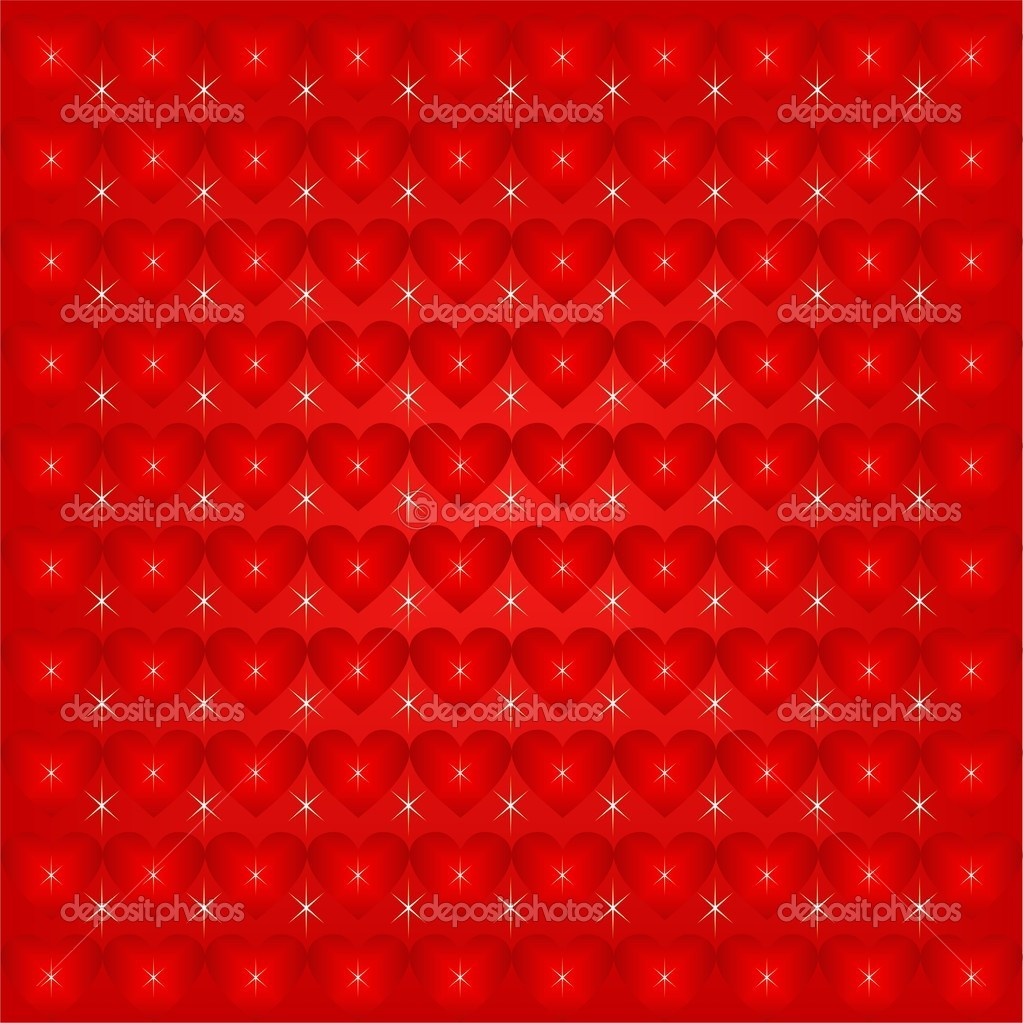 Valentines Day background with Hearts, element for design — Stock Vector #17886617