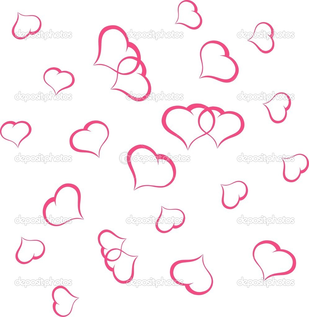 Valentine background with heart  Vector illustration — Stock Vector #18849405