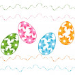 Easter eggs — Stock Vector #19389371