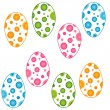 Easter eggs — Stock Vector #19389373