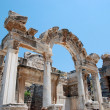 Temple of Hadrian, Ephesus, Turkey, — Stock Photo