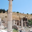 Pillars at Ephesus, Izmir, Turkey, Middle East — Stock Photo #22369229