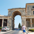 Постер, плакат: Corfu Old Town architecture the palace of saint michael and saint georges