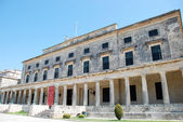 Palace of Saints Michael and George, Kerkyra, Corfu island, Greece — Stock Photo