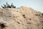 Landscape of Pamukkale, Turkey, — Stock Photo