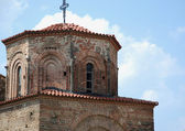 Church of St Sofia, Ohrid, Ohrid Lake, Macedonia — Stok fotoğraf