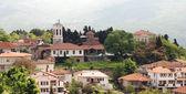 The old part of town Ohrid, Ohrid Lake, Macedonia — Stock Photo